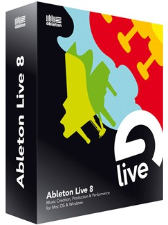 Ableton Live 8 CD-Roms / DVD-Roms |