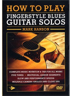 How to Play Fingerstyle Blues Guitar Solos DVDs / Videos | Guitar