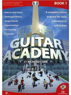 Richard Corr: Guitar Academy - Book 1 Books and CDs | Guitar