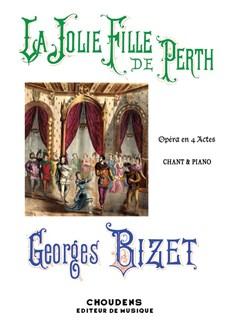Georges Bizet: La Jolie Fille De Perth Books | Voice, Piano Accompaniment