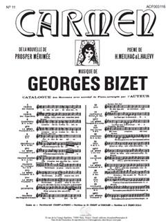 Georges Bizet: Carmen - No. 5 Seguidilla (Piano/Voice) Books | Voice, Piano Accompaniment, Opera
