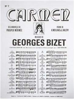 Georges Bizet: Carmen - No. 7 Chanson Du Toréador (Piano & Vocal) Books | Voice, Piano Accompaniment, Opera