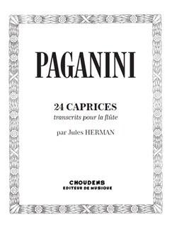 Niccolò Paganini: 24 Caprices For Solo Flute Books | Flute