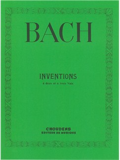 J.S. Bach: Two And Three Part Inventions Books | Piano