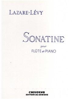 Lazare Lévy: Sonatine Pour Flute Et Piano Op.32 Books | Flute, Piano Accompaniment