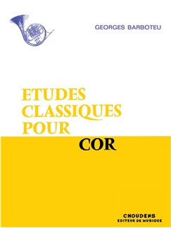 Georges Barboteu: Classic Etudes For French Horn Books | French Horn