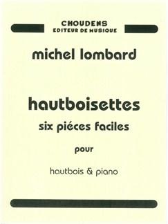 Michael Lombard: Hautboisettes Livre | Hautbois, Accompagnement Piano