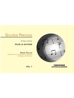 André Trillon: Solfège Pratique Volume 1 - Guitar (French) Books | Guitar