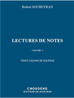 Robert Soubeyran: Note Reading - 20 Lessons Of Solfeggio Books | All Instruments
