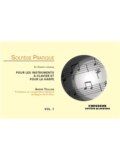 André Trillon: Solfège Pratique Volume 1 - Keyboard & Harp (French) Books | Keyboard, Harp