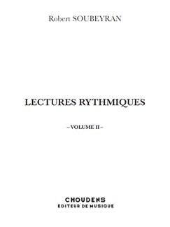 Robert Soubeyran: Lectures Rythmiques - Volume 2 Livre | Tous Les Instruments