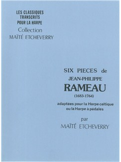 Jean-Philippe Rameau: Six Pieces Books | Harp