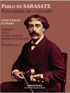 Pablo De Sarasate: Fantaisies De Concert Books | Violin, Piano Accompaniment