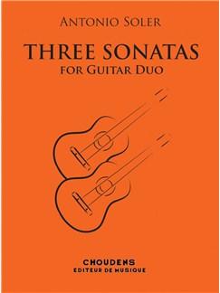 Antonio Soler: Trois Sonates Pour Deux Guitares Livre | Guitare(Duo)