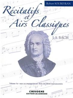 Robert Soubeyran: Récitatifs Et Airs Classiques Books | All Instruments