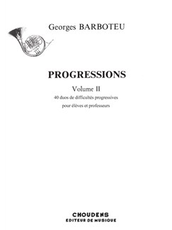 Georges Barboteu: Progressions Volume 2 Books | French Horn