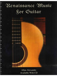 Renaissance Music For Guitar Books and CDs | Guitar