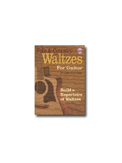 Miles Courtiere: Folk And Country Waltzes For Guitar (Book/CD) Books and CDs | Guitar