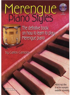 Merengue Piano Styles Books and CDs | Piano