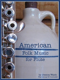 American Folk Music For Flute Books and CDs | Flute