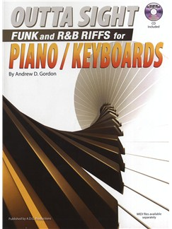 Outta Sight Funk And R&B Riffs For Piano/Keyboards Books and CDs | Piano, Keyboard