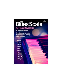 The Blues Scale for Piano/Keyboards Books and CDs | Piano, Keyboard