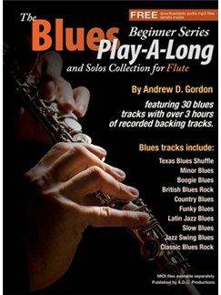 The Blues Play-A-Long And Solos Collection For Flute (Book/Online Audio) Books and Digital Audio | Flute