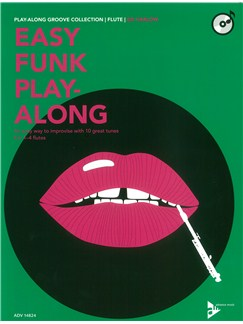 Ed Harlow: Easy Funk Play-Along (Flute) Books and CDs | Flute