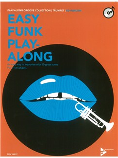 Ed Harlow: Easy Funk Play-Along (Trumpet) Books and CDs | Trumpet