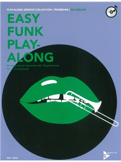 Ed Harlow: Easy Funk Play-Along (Trombone) Books and CDs | Trombone