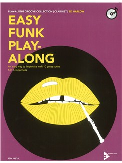 Ed Harlow: Easy Funk Play-Along (Clarinet) Books and CDs | Clarinet