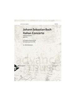 Italian Concerto BWV 971 Books | Saxophone (Quartet)