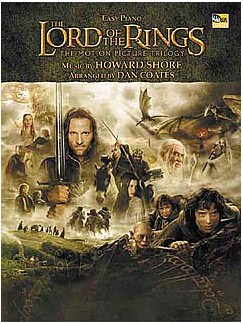 The Lord Of The Rings Trilogy: Easy Piano Livre | Piano