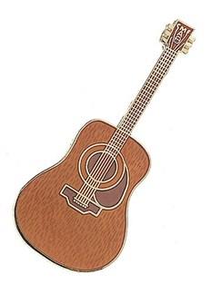 Mini Pin: Martin D-45    Acoustic Guitar, Guitar