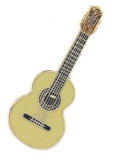 Mini Pin: Classical Guitar (Cedar)  | Guitar
