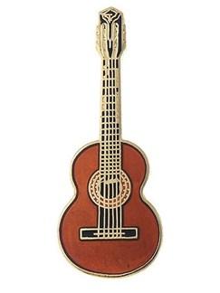 Mini Pin: Classical Guitar (Spruce)  | Guitar