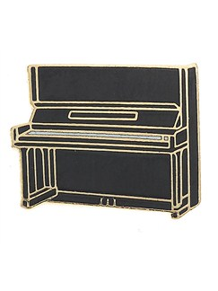 Mini Pin: Upright Piano  | Piano