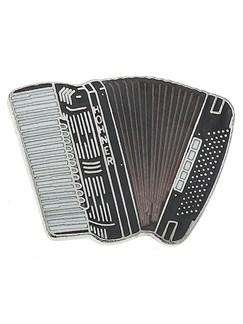 Mini Pin: Accordion (Black)  | Accordion