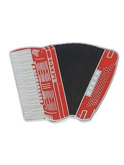 Mini Pin: Accordion (Red)  | Accordion