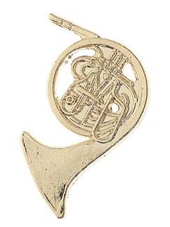 Mini Pin: French Horn  | Horn