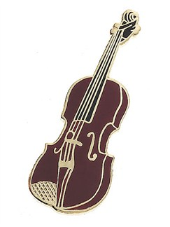 Mini Pin: Violin  | Violin