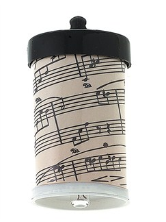 Squeeze Light Keychain: Sheet Music  |