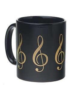 Coffee Mug: Treble Clef  |