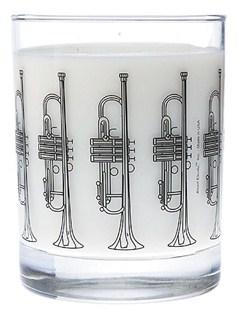Clear Glass Tumbler: Trumpet  | Trumpet