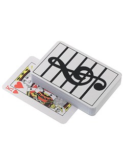 Playing Cards: Treble Clef  |