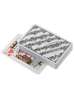 Playing Cards: Sheet Music  |