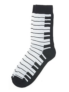 Women's Socks: Keyboard  |