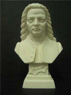 Composer Bust: Bach (Alabaster)  |