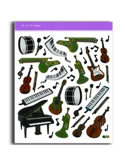 Stickers: Keyboards/Instruments  |