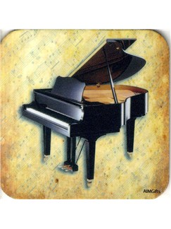 Drinks' Coaster (Grand Piano)  | Piano